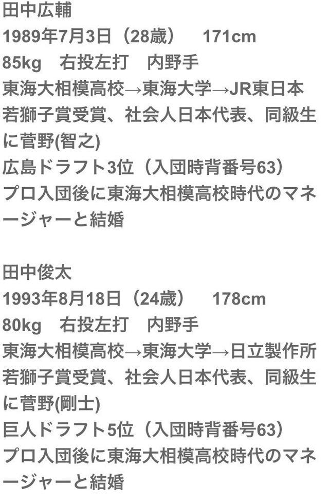 田中兄弟経歴