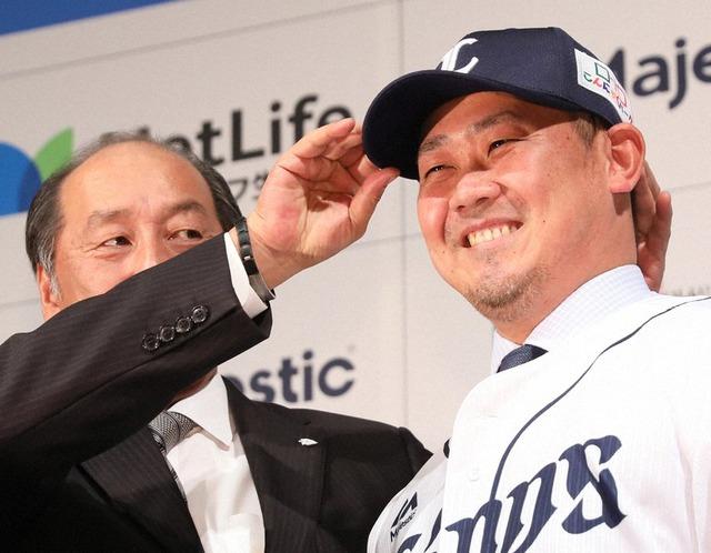 松坂大輔、引退「右手の指の感覚がない」