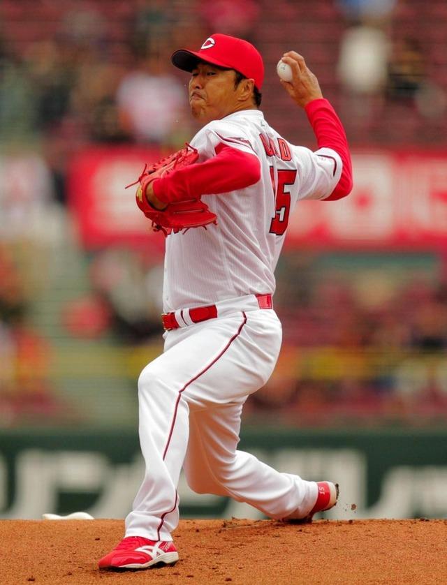 黒田打球直撃降板