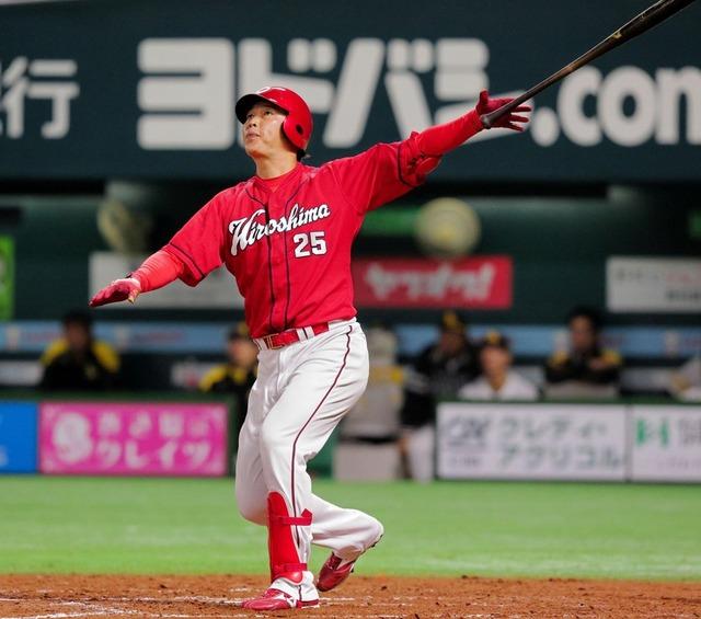 新井貴浩代打満塁ホームラン