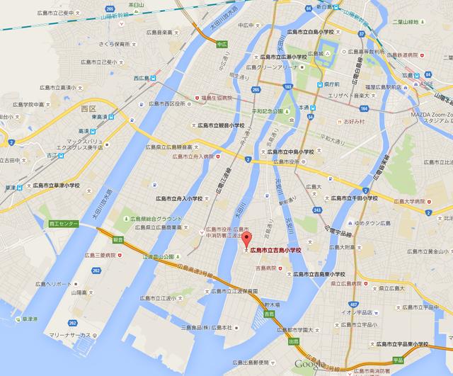 広島市中心部住みやすさ