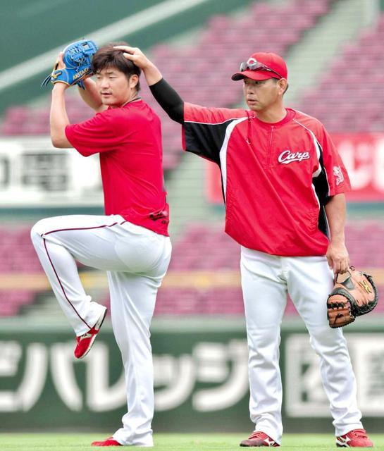 岡田明丈菅野智之最多勝争いトップ対決