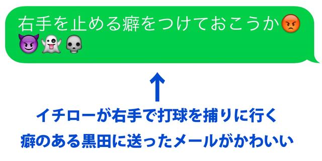 黒田イチローメール