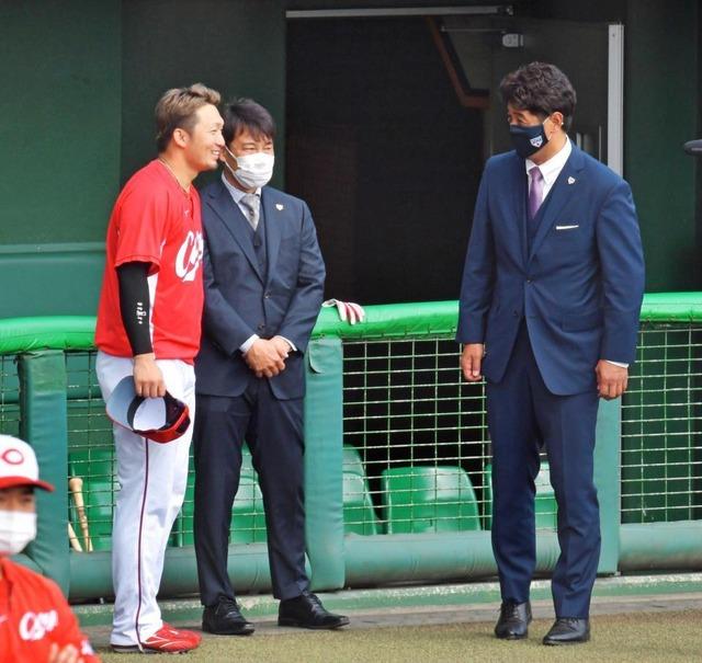 カープ鈴木誠也が侍ジャパン4番