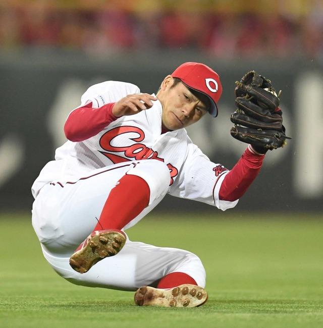 カープ田中広輔(FA権取得)は手術した膝の調子がよくなり来年活躍するので引き留めるべき