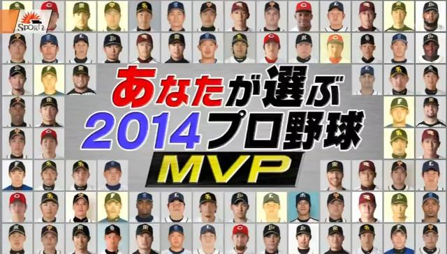 2014年プロ野球ファンが選ぶMVP選手_00