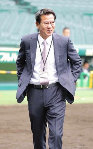 大野豊阪神投手コーチ