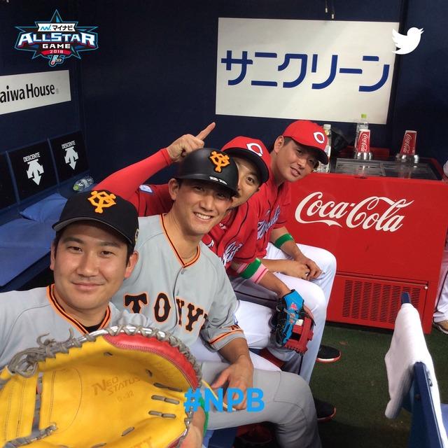 大瀬良菅野エース対決