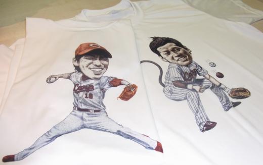 小窪哲也なきぼくろTシャツ2
