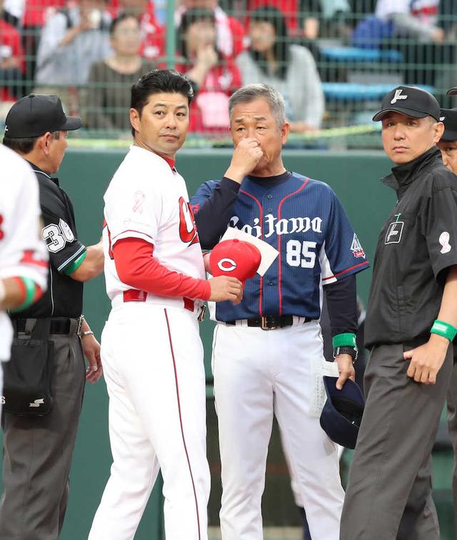 広島西武打ち勝つ野球