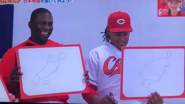 クレート通訳が描いた日本地図