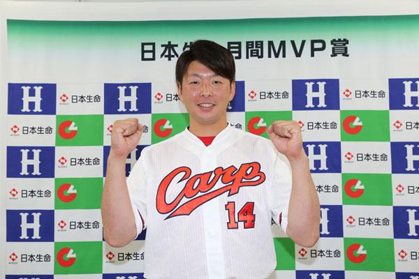 大瀬良大地5月月間MVP