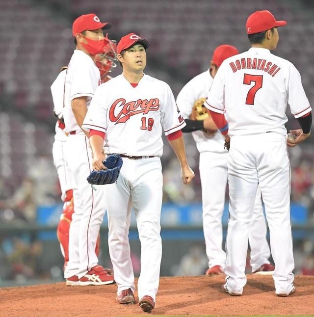 広島カープ9月の1試合平均7失点