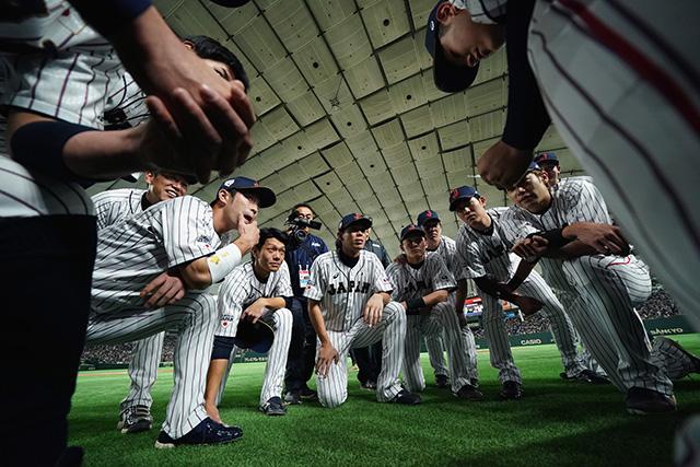 侍ジャパン日米野球スクワット応援加速