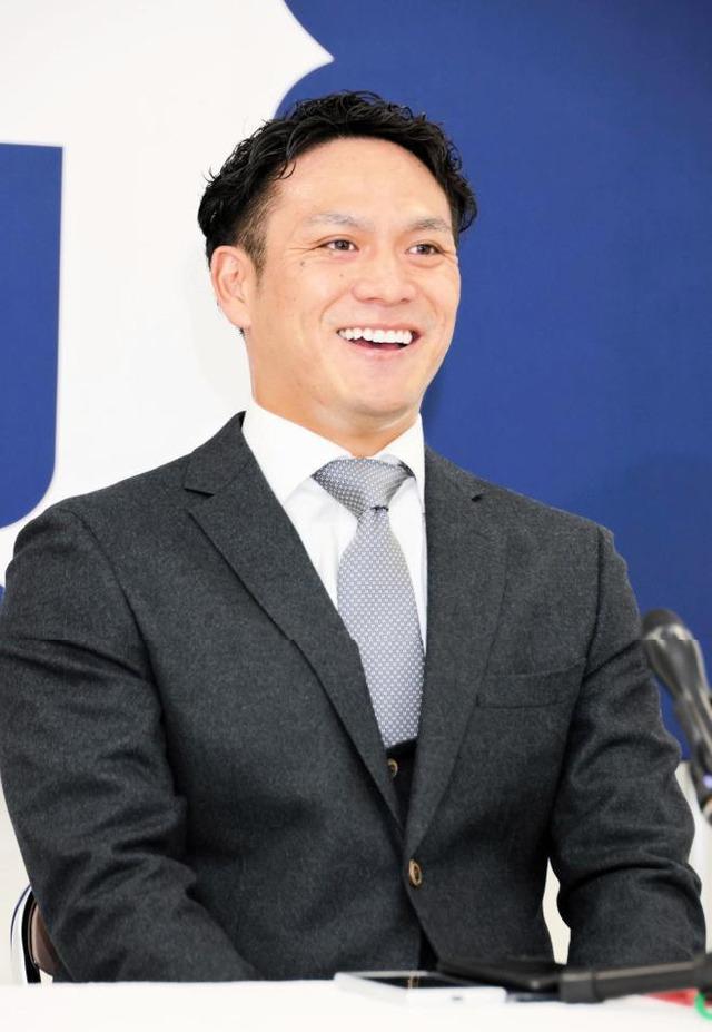 田中広輔がFA残留会見「カープが好き」
