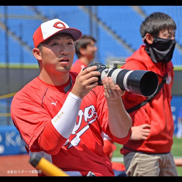 カープ鈴木誠也_新打撃フォームの影響で打球が変化