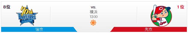 広島横浜_オープン戦