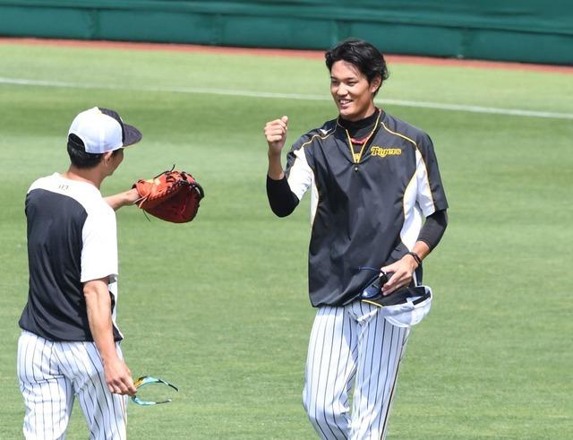 阪神藤浪、堂林&鈴木誠也率いる広島カープ戦に先発