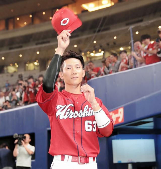 西川龍馬延長10回3点タイムリー3塁打