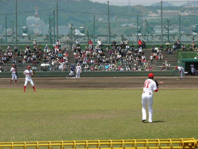カープ_初代本拠地_広島県総合グランド野球場