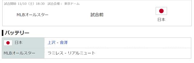 1110侍ジャパンバッテリー
