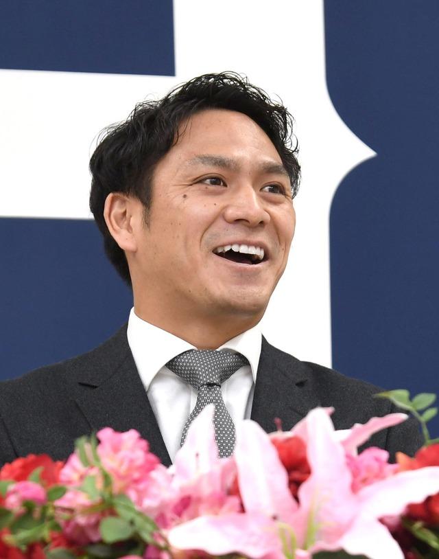 カープ田中広輔現状維持年俸1億5000万+出来高2年契約契約更改