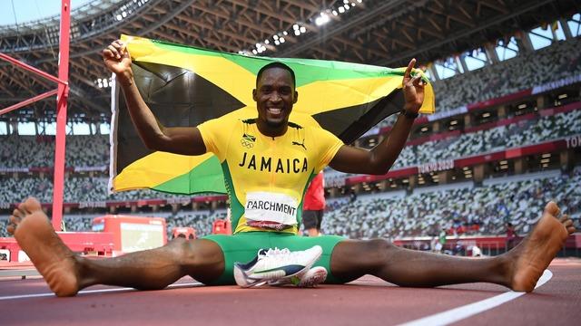 オリンピックジャマイカボランティア金メダル