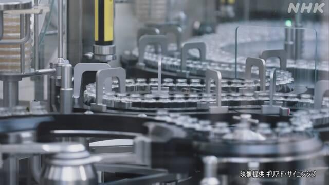 新型コロナ治療薬『レムデシビル』最速で承認