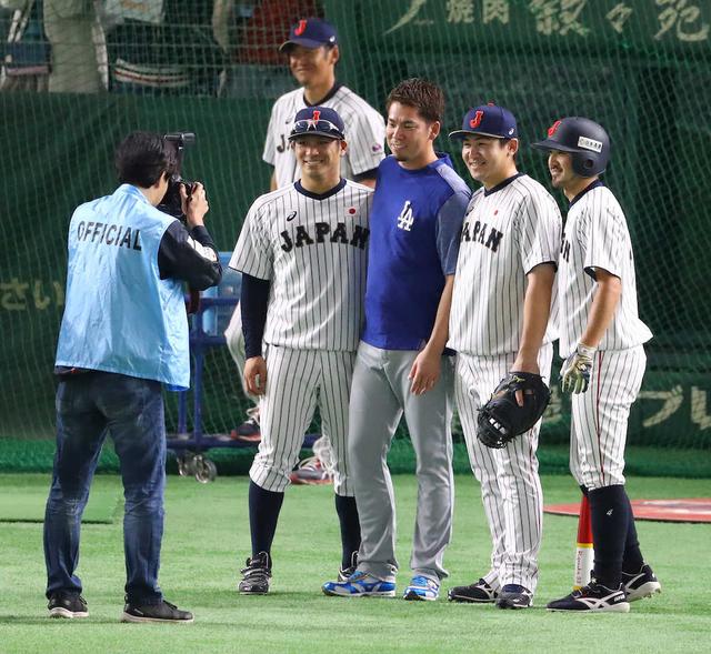 前田健太vs大瀬良大地_日米野球