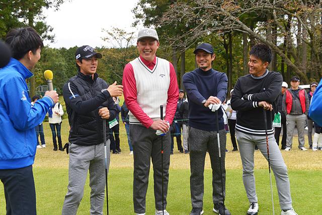 新井さん武井壮チャリティーゴルフ (4)