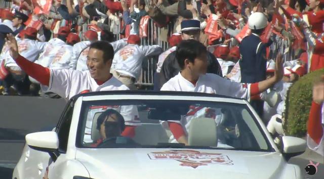 広島カープ優勝パレード33