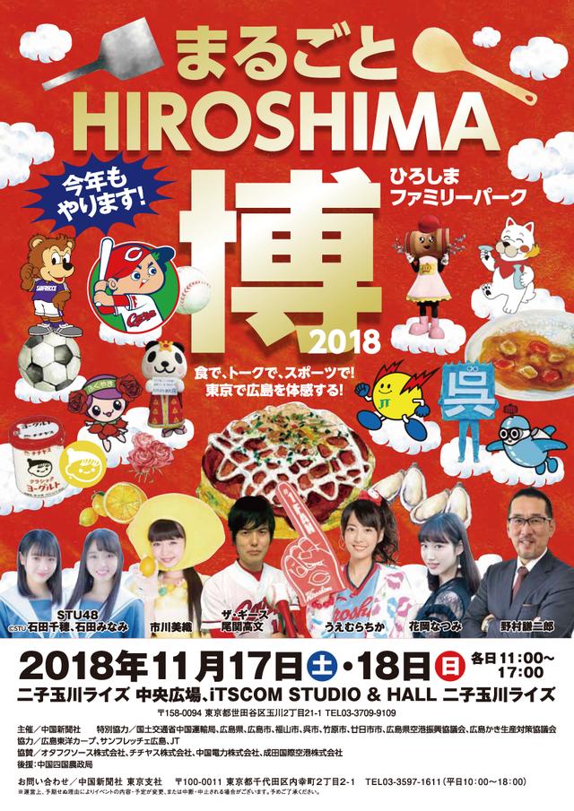 HIROSHIMA博2018