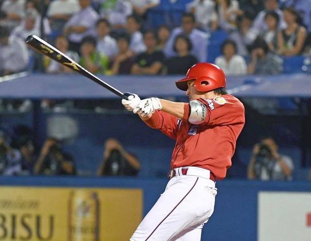 カープ長野久義4番打者