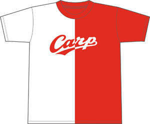 左側を染めろTシャツ_表