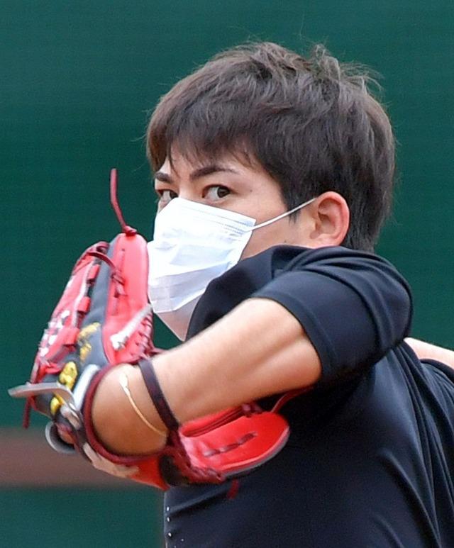 プロ野球ベンチでマスク着用へ_02