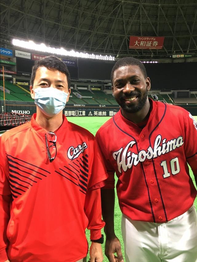 広島ピレラ球団史上2人目の外国人開幕1番スタメン