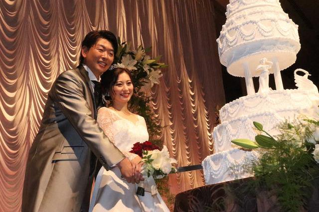 大瀬良大地浅田真由結婚披露宴 (4)
