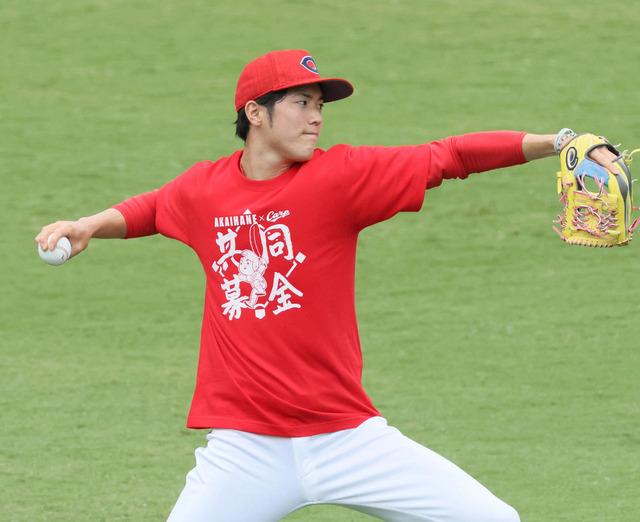 カープ森下中日大野巨人菅野阪神西最優秀防御率争い