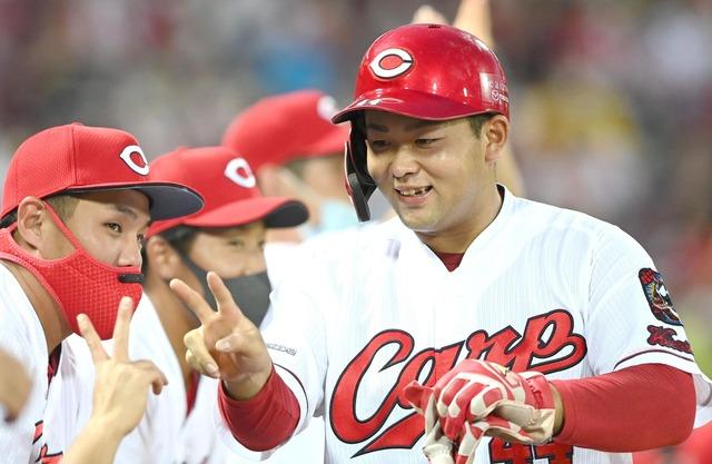 カープ林晃汰、打率.301←予想より凄い!6本塁打←予想より少ない?