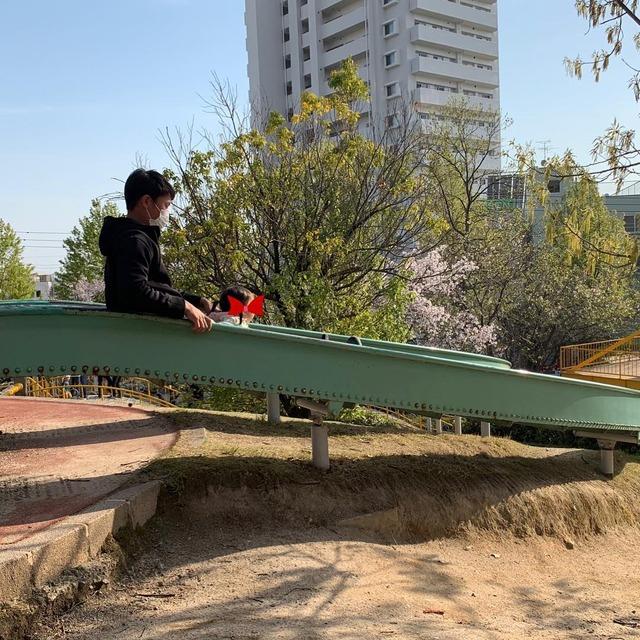 堂林公園滑り台