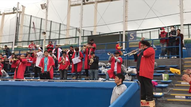 広島カープ攻めろ応援歌練習神宮球場