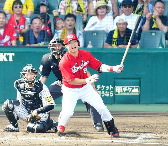 カープ鈴木誠也満塁ホームラン阪神ドリス