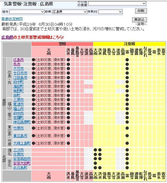 広島避難勧告 (2)