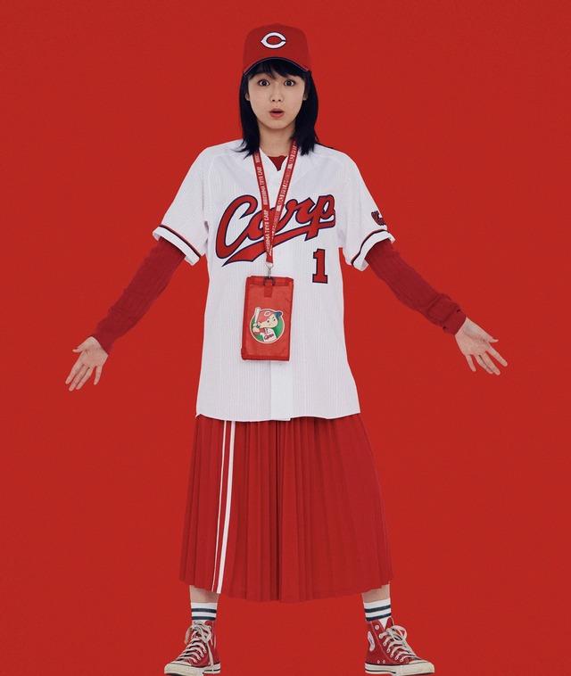 高田夏帆カープ女子