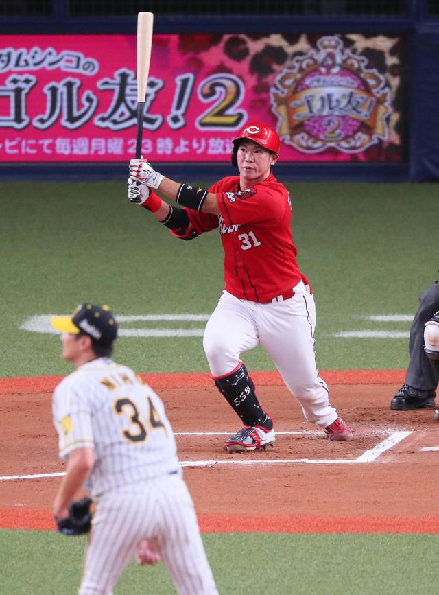 広島坂倉将吾1発含む2安打2打点も「力になれなかった」