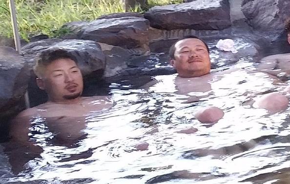 広島カープ今村猛松山竜平温泉湯布院