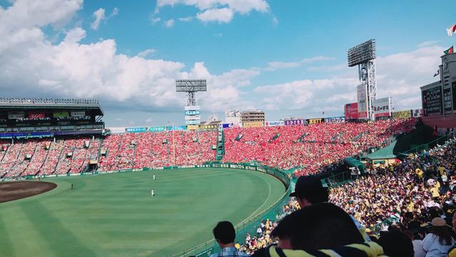 カープファン_甲子園