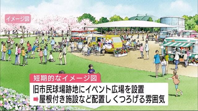 広島市民球場跡地イベント広場