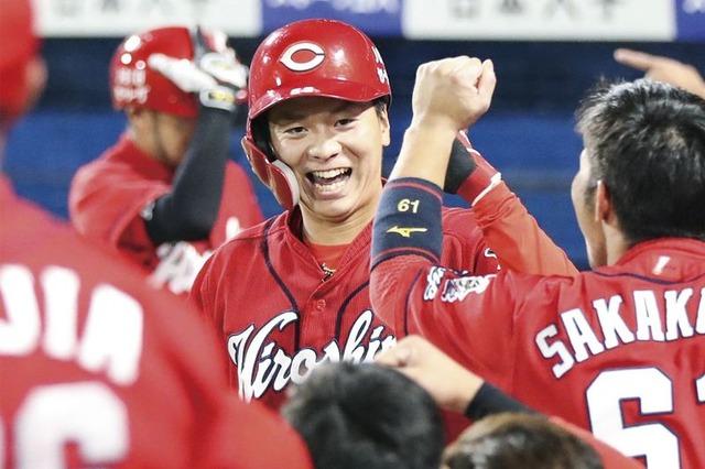 カープ大盛穂の決意「もっと盗塁を」機動力野球復権のキーマン