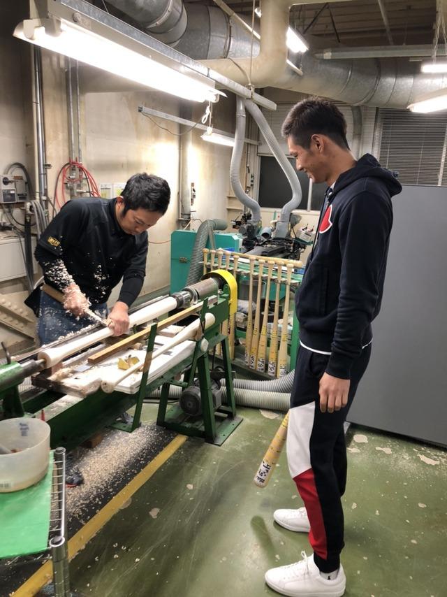 中村奨成バット工場 (2)